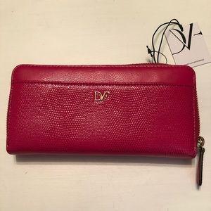 Diane Von Furstenberg Leather Wallet